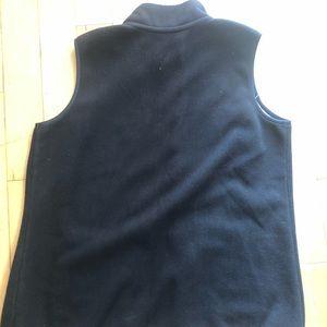 Brooks Brothers Jackets & Coats - Brooks Brothers L Black Mens polyester vest